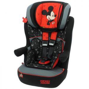 Siège Auto – Mycarsit Groupe 1/2/3 – Mickey Mouse