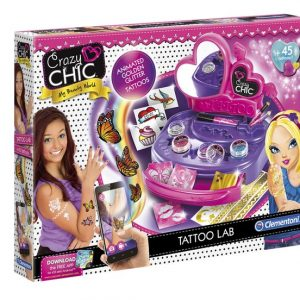 Crazy Chic – Tattoo lab – Clementoni