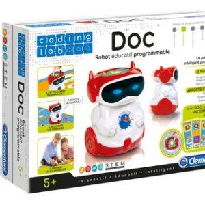 Doc Robot Éducatif Parlant Programmable – Clementoni
