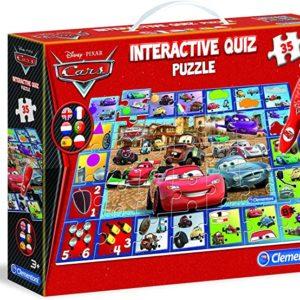 Interactive quiz puzzle cars