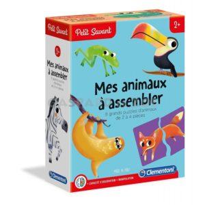 Petit Savant -Mes animaux A assembler- Clementoni