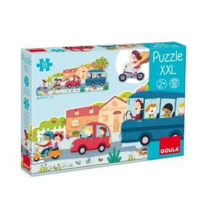 Puzzle XXL Véhicules – goula